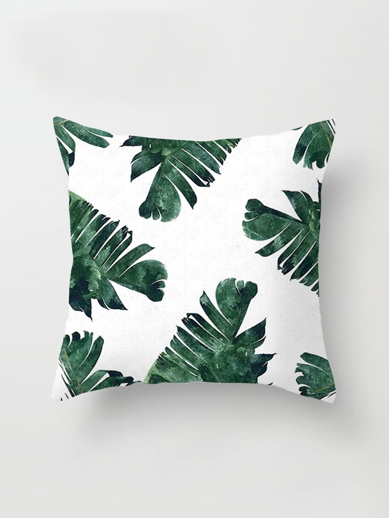 Jungle Print Pillowcase Cover
