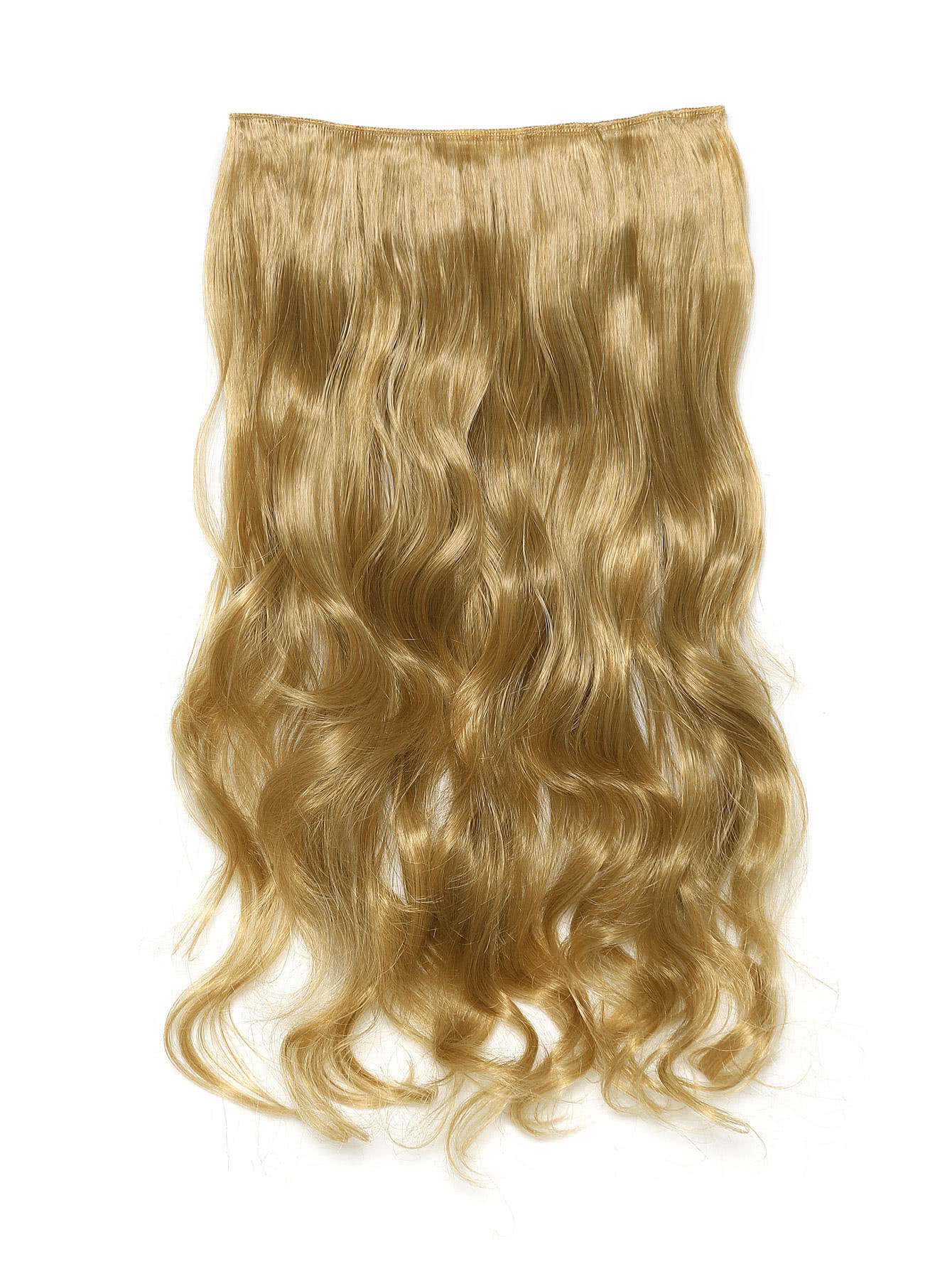 Honey Blonde & Caramel Clip In Soft Wave Hair Extension