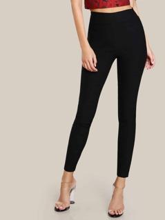 Elasticized Waist Skinny Pants