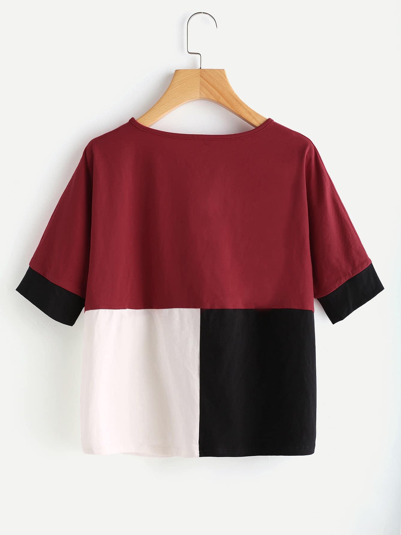 Cut And Sew T-shirt