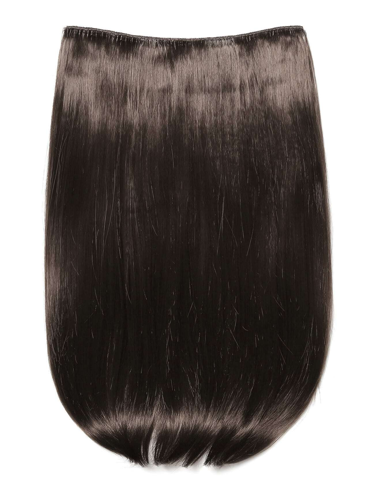 цена на Choc Brown Clip In Straight Hair Extension