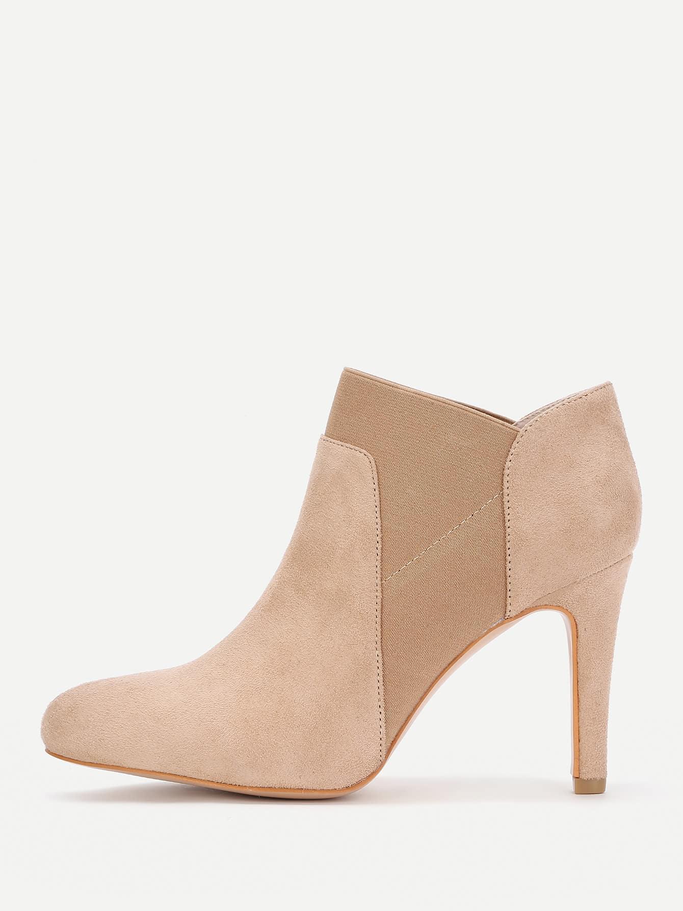 Фото Pointed Toe Stiletto Heel Boots. Купить с доставкой