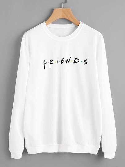 FRIENDS Print Sweatshirt