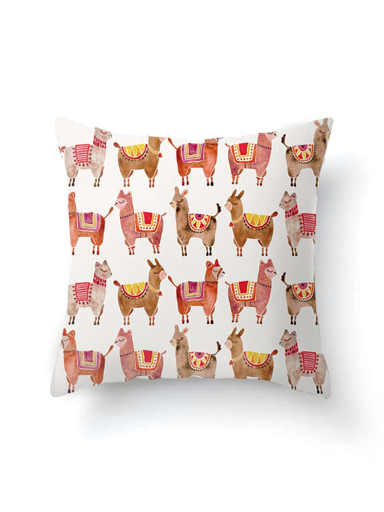 Фото Camel Overlay Print Pillowcase Cover. Купить с доставкой