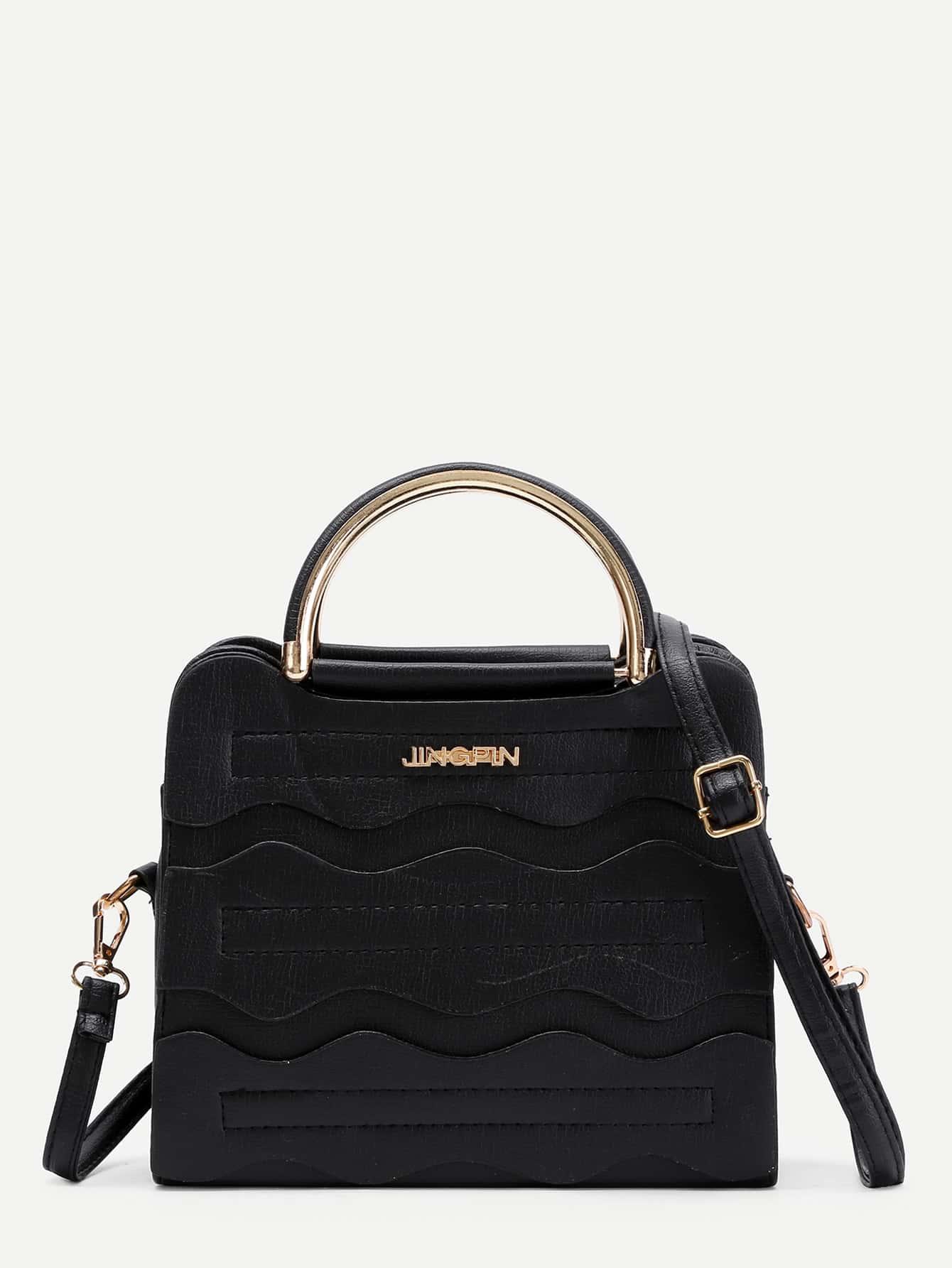 Фото PU Grap Bag With Adjustable Strap. Купить с доставкой