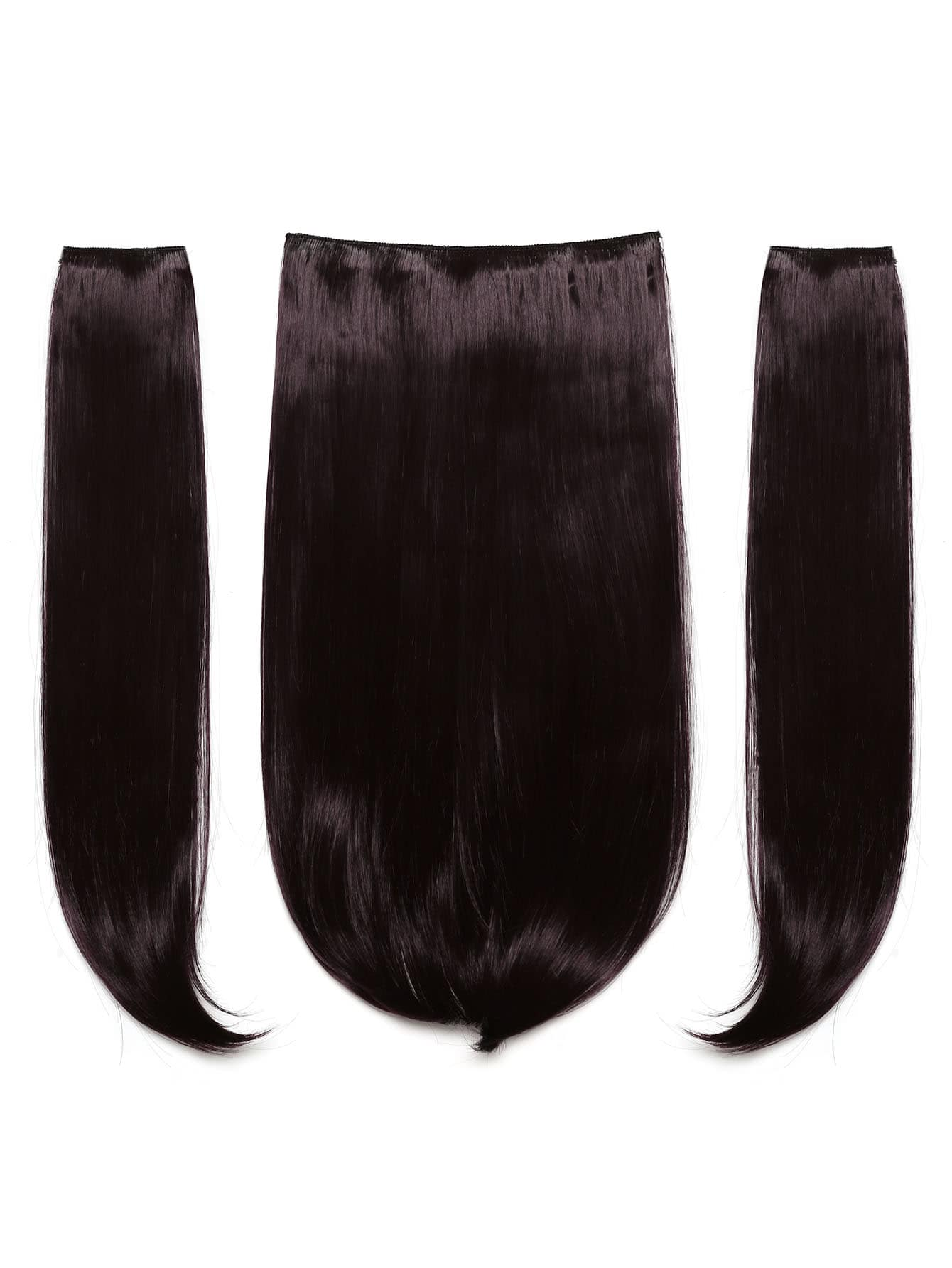 цена на Plum Clip In Hair Extension 3pcs