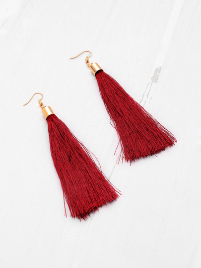 Cute Tassel Drop Earrings