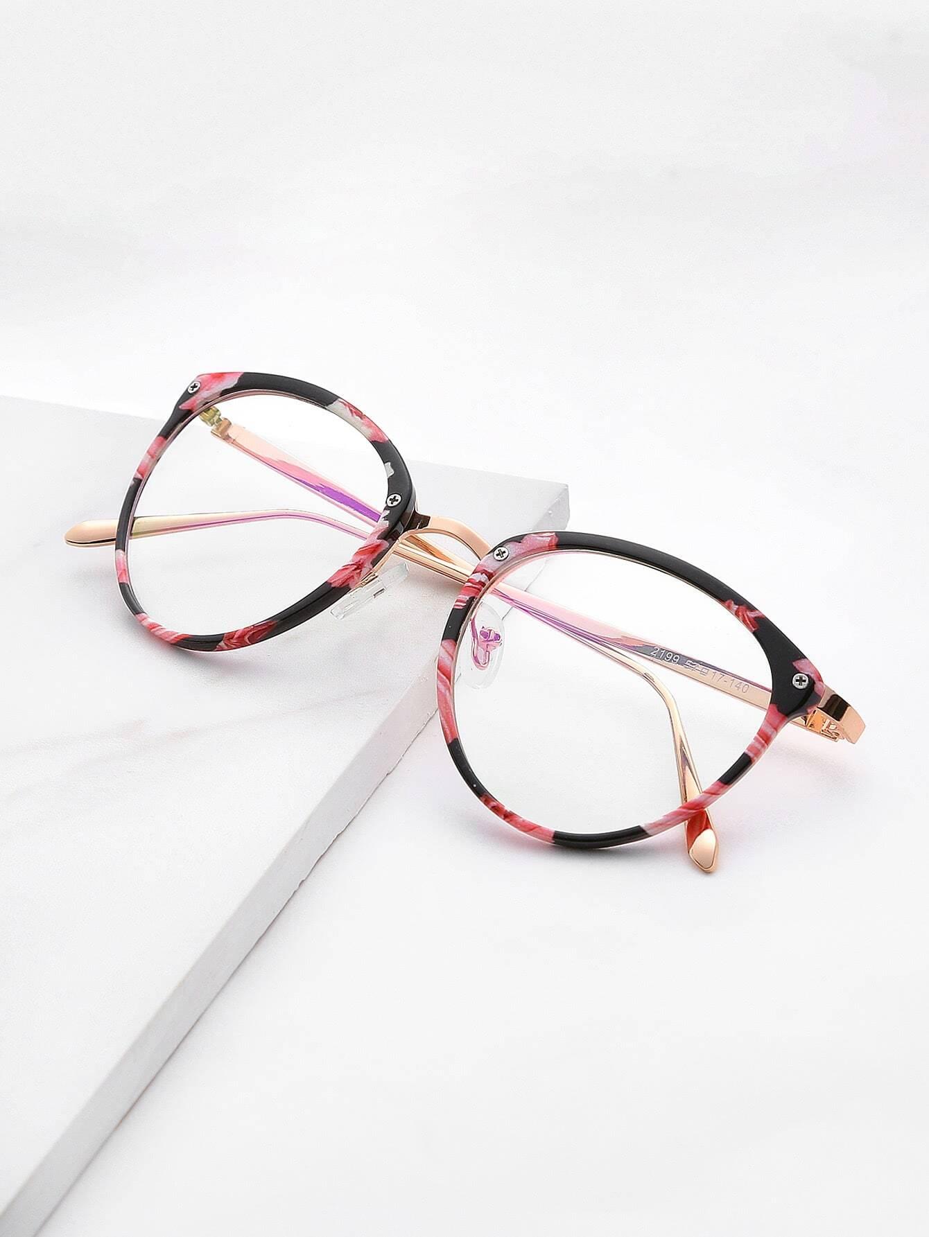 Skinny Frame Clear Lens Glasses