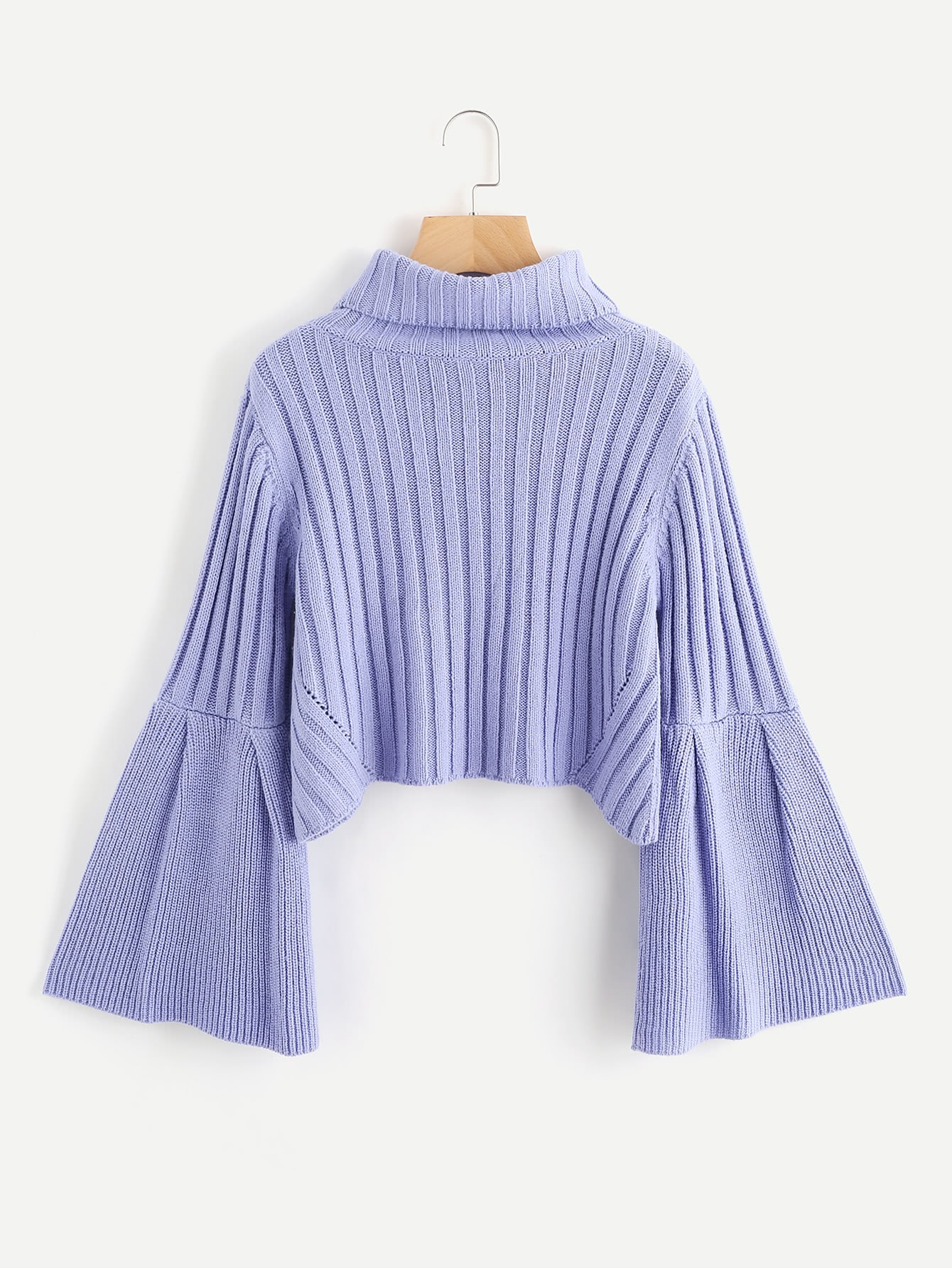 Rib Knit Fluted Sleeve Jumper наушники вставные sennheiser ie 4