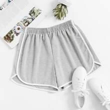 Ringer Slub Shorts