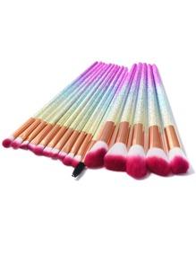 Ombre Makeup Brush 16pcs