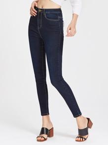 Topstitch Super Skinny Jeans