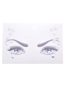 Eye Jewel Sticker