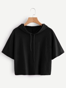 Hooded Drawstring Tee