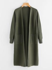Maglione cappotto lungo