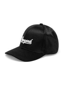 Gorra de béisbol con bordado de slogan