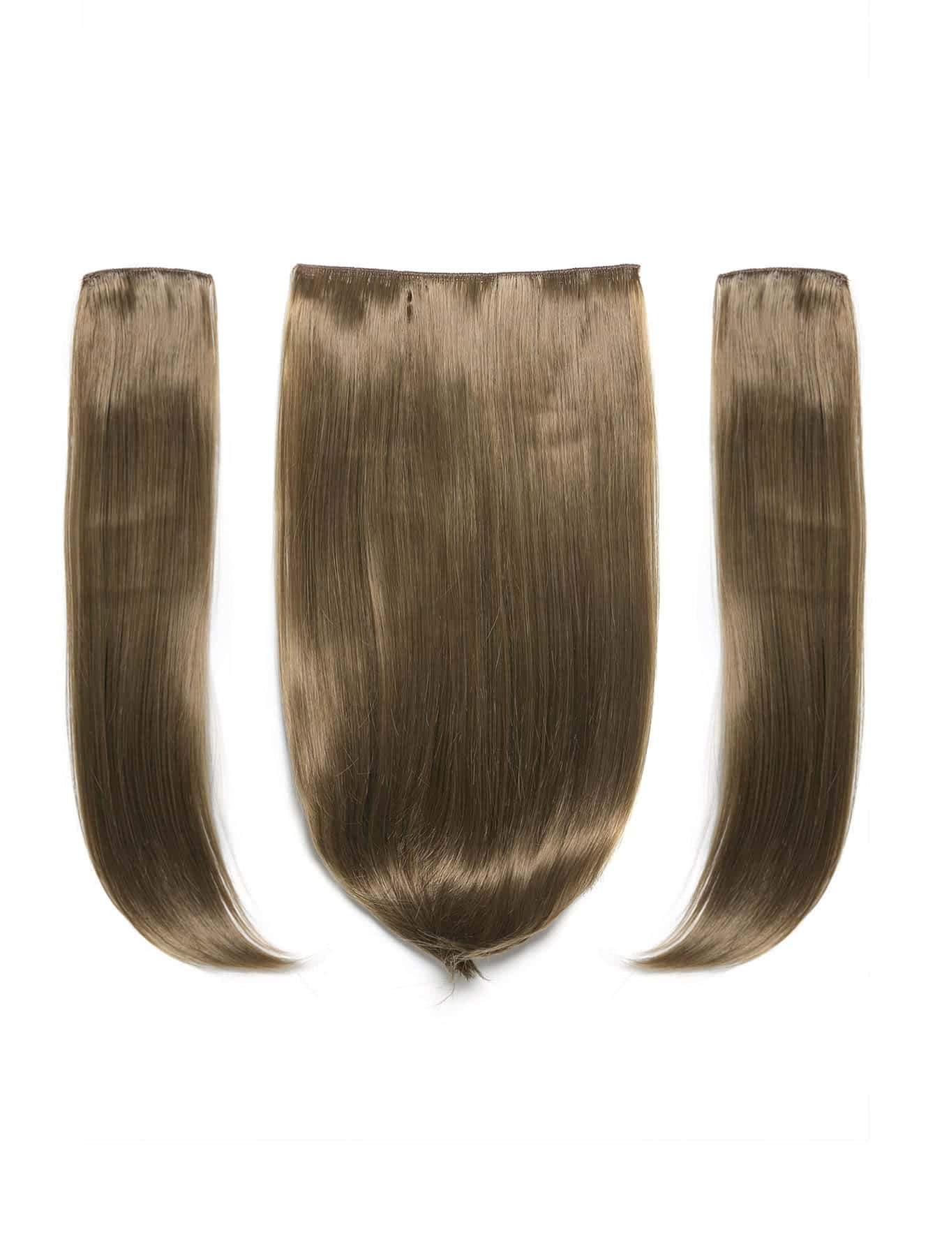 Harvest Blonde Clip In Straight Hair Extension 3pcs harvest hunting