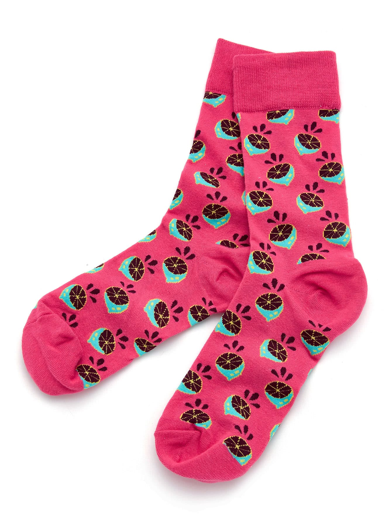 Fruit Print Ankle Socks