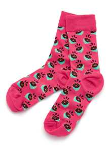 Fruit Print Ankle Socks