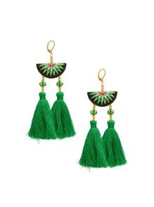 Tassel Drop Vintage Earrings