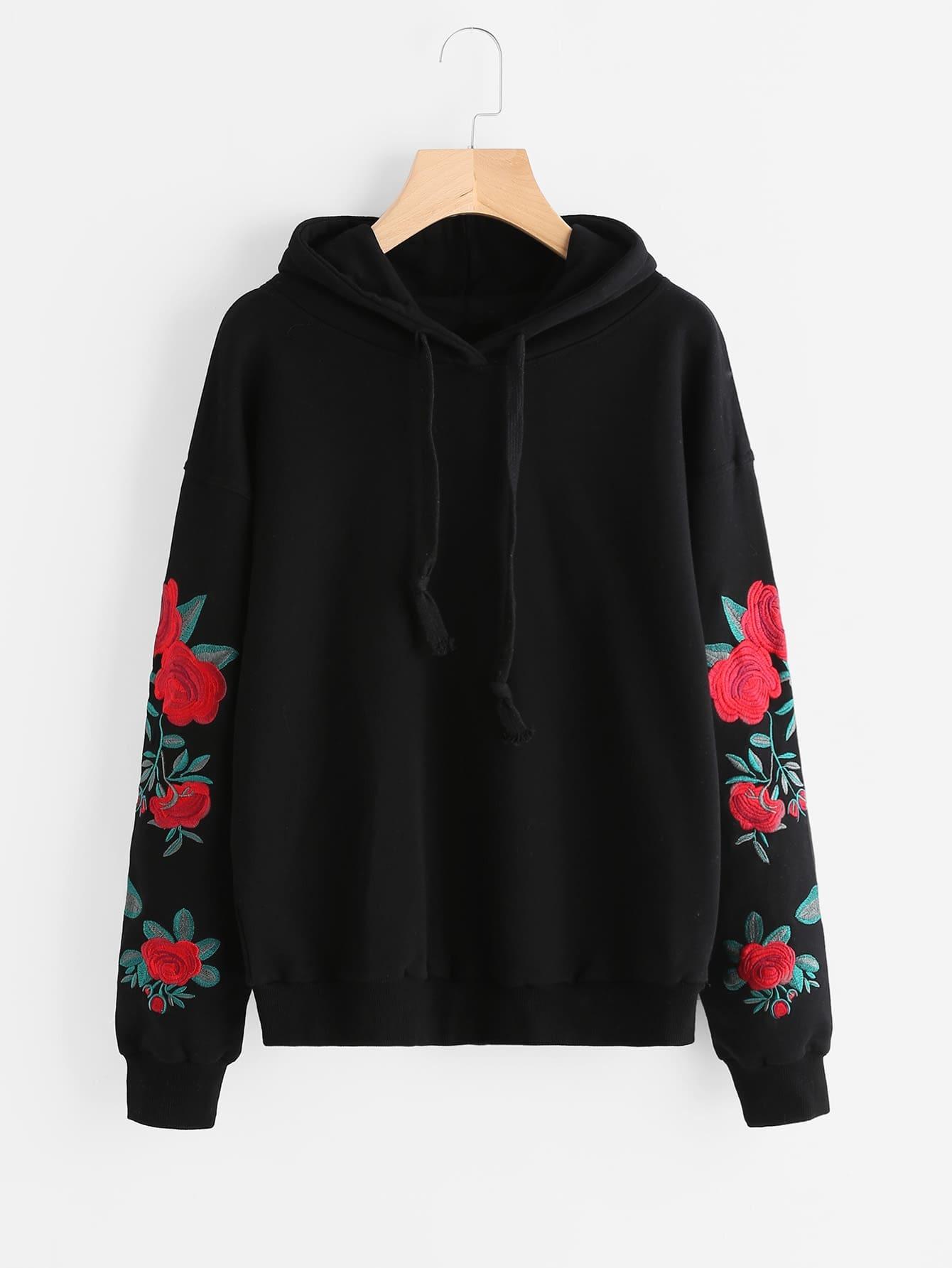Floral hoodies