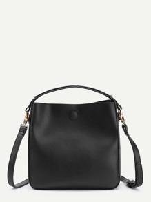 PU Crossbody Bag With Handle