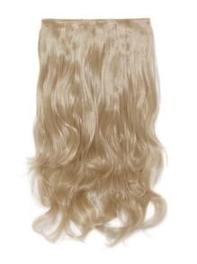 Champagne Blonde Clip In Soft Wave Hair Extension