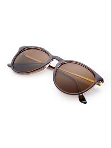 Sonnenbrille mit Skinny Rahmen