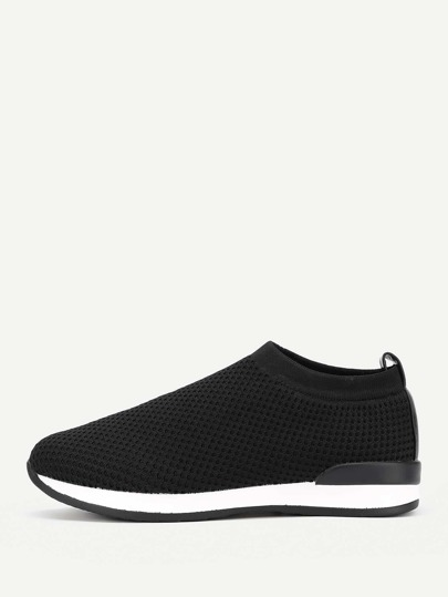 Net Surface Track Sneakers