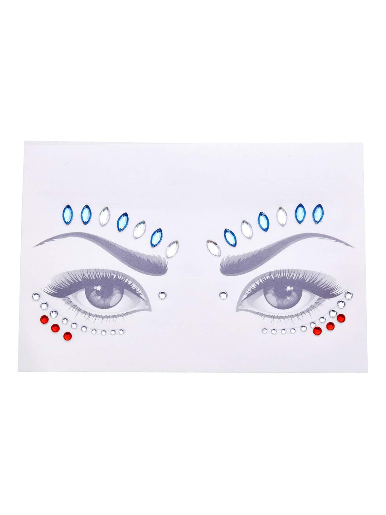 Rhinestone Makeup Eye Sticker