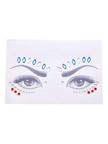 Rhinestone Makeup Eye Sticker