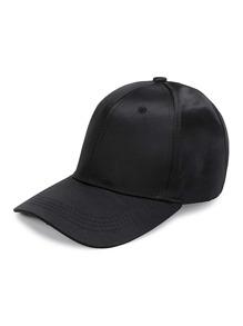 Gorra de béisbol de satén