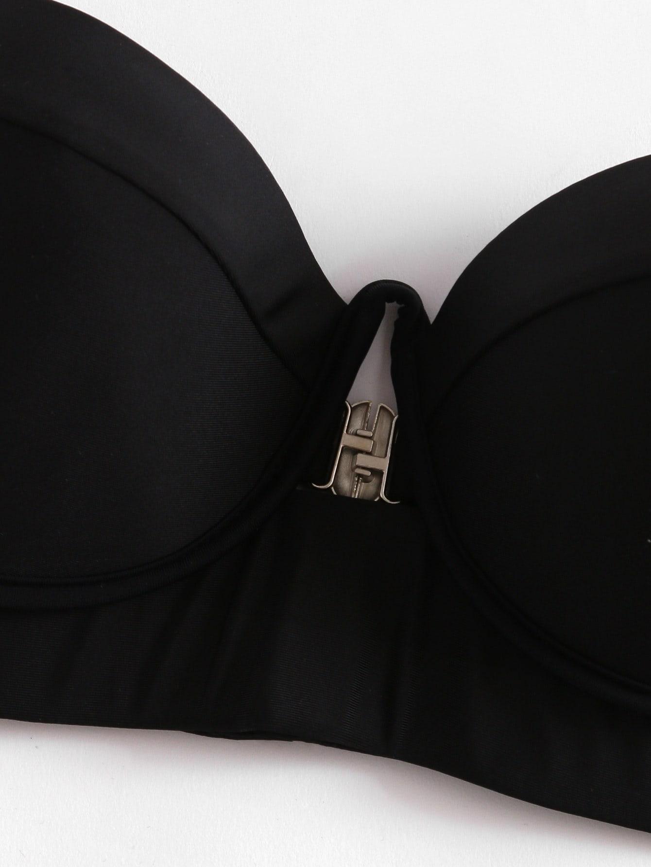 Underwire Bustier Bikini Set