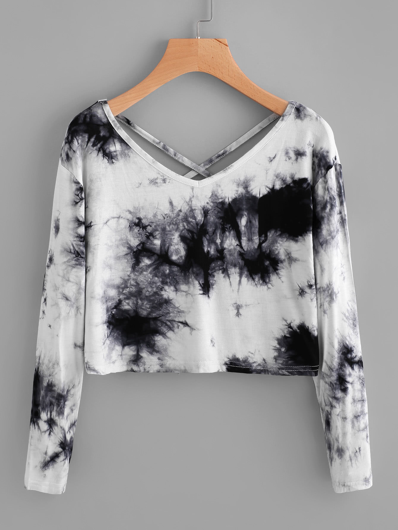 Water Color Criss Cross Back Tee thumbnail