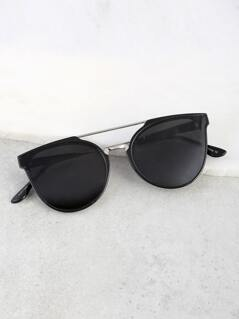 Wayfarer Duo Bar Sunnies BLACK