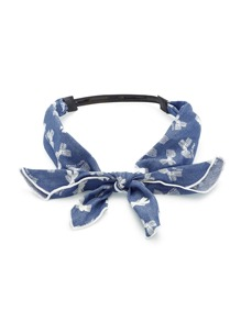 Bow Tie Chambray Headband