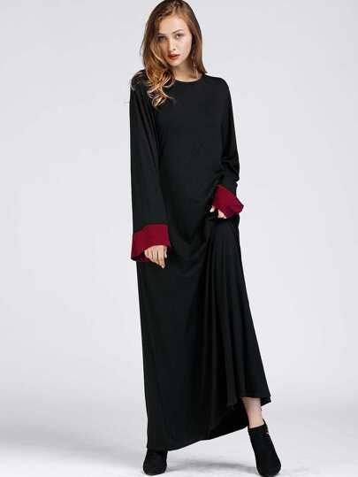Langes hijab kleid german shein sheinside - Shein kleidung ...