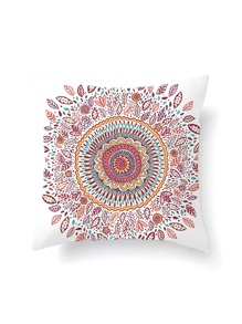 Calico & Leaf Print Pillowcase Cover