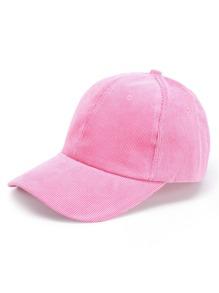 Gorra de béisbol de pana