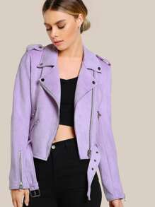 Модная куртка с поясом