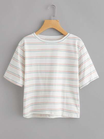 Double Striped Tee