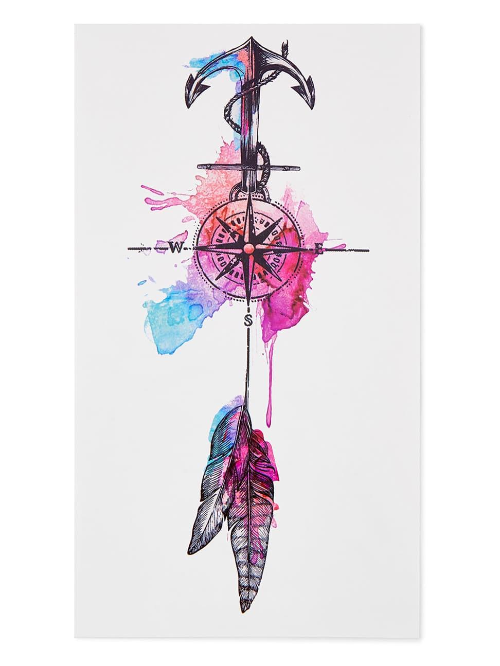 Dreamcatcher Design Tattoo Sticker