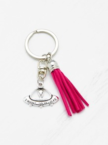 Tassel Decorated  Keychain