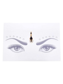 Contrast Gemstone Eye Jewel Sticker