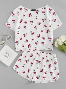 Модная пижама с принтом