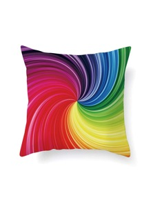Spiral Print Pillowcase Cover