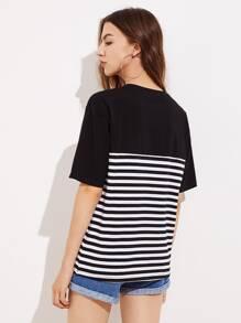 T-shirt a strisce  immagini