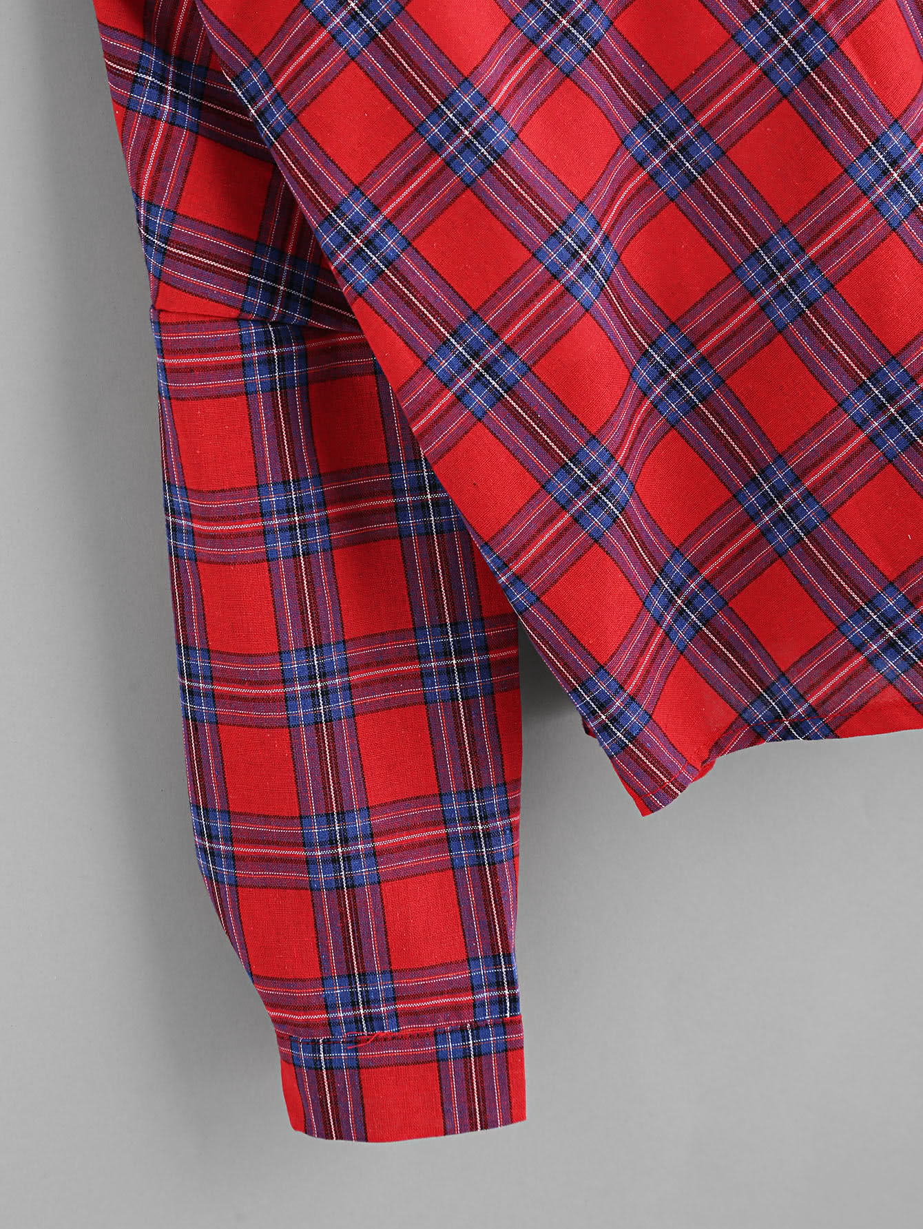 Open Shoulder Check 2 In 1 Shirt