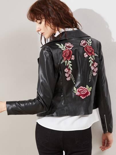 Вышивка на спине на куртке 576