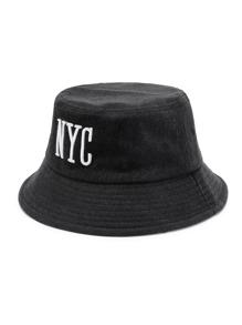 Eimer Hut mit Buchstaben